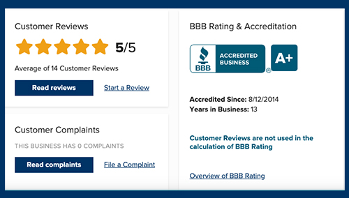 better business bureau get bats out reviews